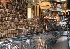 Liz's Antique Hardware in Los Angeles will help customers match missing hardware for a mere $10.
