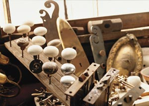 Liz's Antique Hardware has more than a million pieces of salvaged hardware.