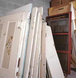 The Loading Dock in Baltimore is a nonprofit organization that carries more mundane building materials for house restoration projects.