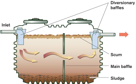 Caring for septic systems old house online old house for How to design a septic system