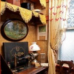 The sewing room is part of a Morton-era add-on to the house.