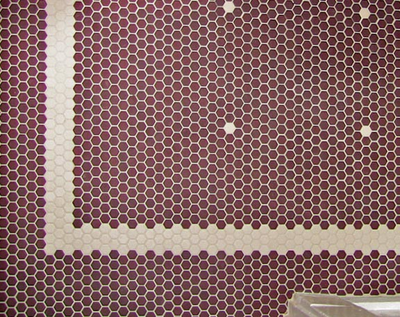 Tile Patterns For Floors In Old House Baths Old House