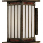 The Himeji from Arroyo Craftsman can be personalized in a choice of 10 different glass options and 10 finishes.