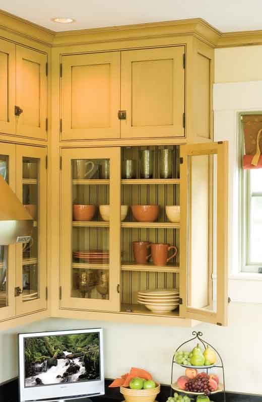 Creating a timeless kitchen old house online old house for 19th century kitchen cabinets