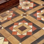 Salvaged tile? These encaustic floor tiles were painstakingly carried, cleaned, and relaid by a New York City homeowner, who got them from a local church demolition.