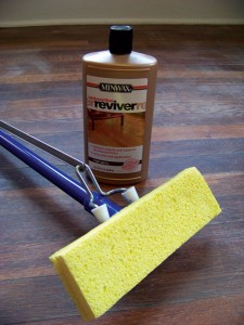 Water-based finishes, such as Minwax's Hardwood Floor Reviver, are a good choice if reducing drying time is a major factor in your project.