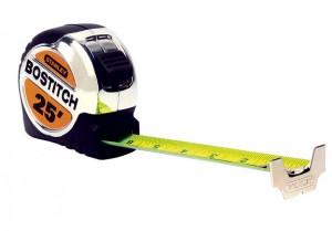 Stay-put tape measure