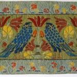 Hopwood's Birds rug by Mill River Rugs