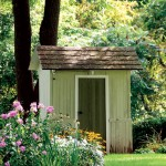 Irena also preserved the home's original three-hole outhouse, which she says is a surefire conversation-starter at parties.