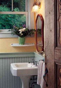 Original, reclaimed, or newly manufactured, beadboard spells charm.