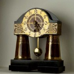 A German clock by Ehrhard & Sohne, ca. 1910.