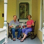 Homeowners Dylan Williams and Kate Remley were meticulous in their restoration of the 1877 house.