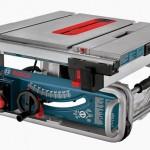 "Bosch GTS1031 10"" portable job-site table saw"
