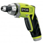 Ryobi TEK4 battery-powered screwdriver