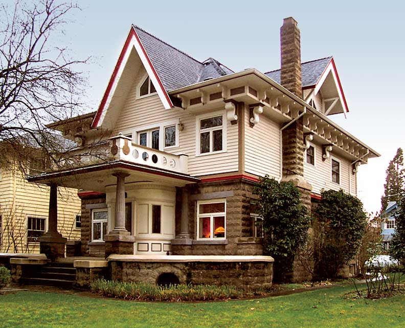 Old Portland Style Home Plans House Design Plans