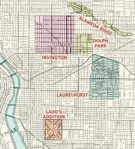 Portland eastside neighborhoods