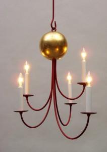Moon chandelier from Hudson River Design