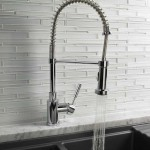 BLANCO AMERICA 'MERIDIAN' semi-professional with stainless steel hose protector.