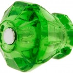 Emerald-glass knob by House of Antique Hardware.
