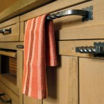 Cabinet pulls by LB Brass.