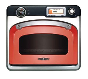"TurboChef makes wall ovens with fast-cooking ""airspeed technology"" and a retro design in six colors plus stainless."