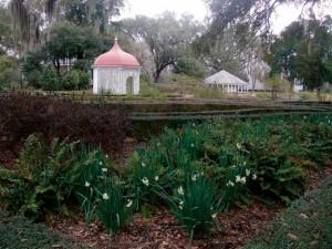 The gardens at Rosedown Plantation
