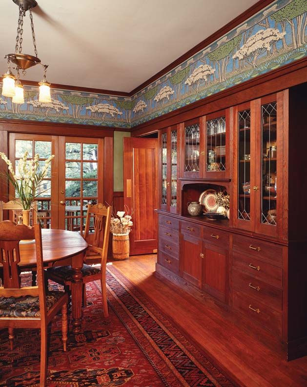 Wallpaper For Arts Amp Crafts Homes Old House Online Old