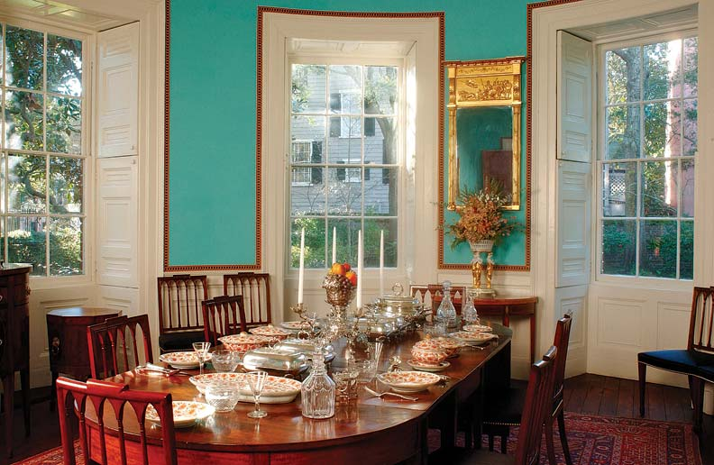 5 ideas for historic window treatments old house online - Federal style interior decorating ...