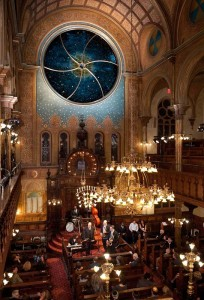 Saved at the eleventh hour, the Eldridge Street Synagogue is also a museum and neighborhood cultural center. Photo: Leo Sorel