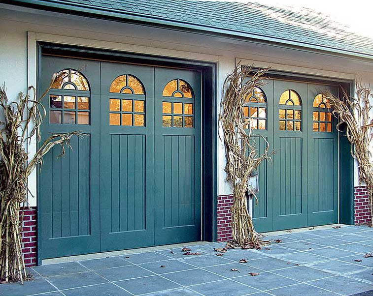 How to choose a garage door old house online old house for Images of painted doors