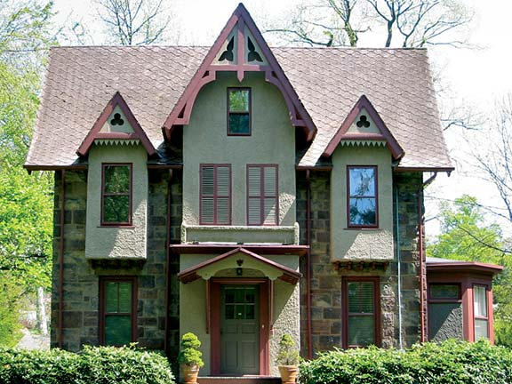 gothic revival cottage house plans - house interior