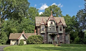 The handsome house was built by Victorian-era architect Daniel T. Atwood as his own residence.