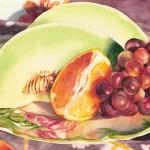 Fruit Plate by Kathrine Lemke Waste