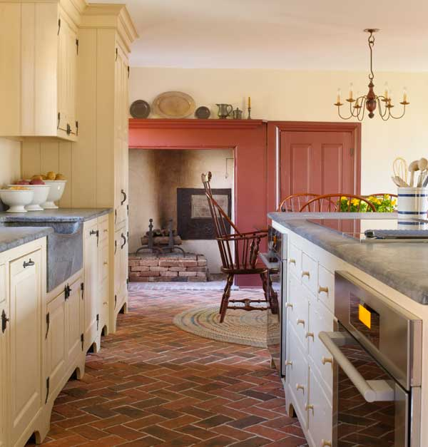 A Dozen Home Workspaces: Designing A New Country Kitchen