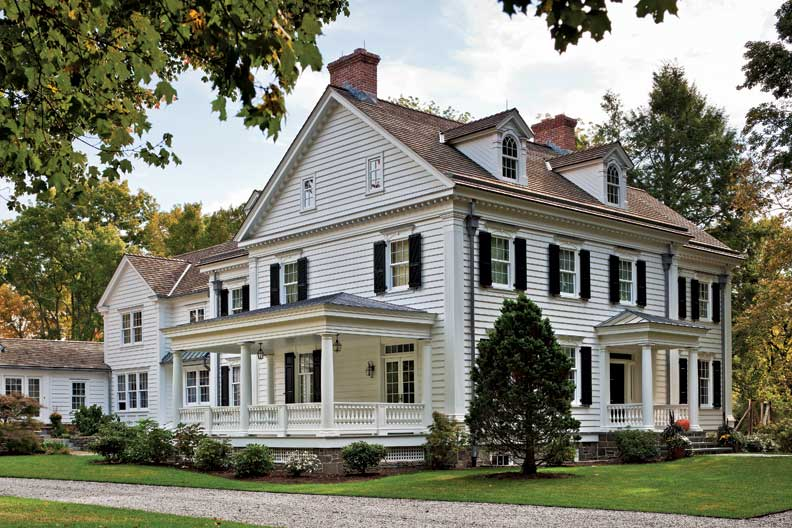 An elegant new england federal old house online old for American classic homes mn