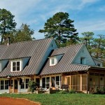 Architect Patrick Farley created a home that takes advantage of the Virginia vernacular, as well as its country setting.
