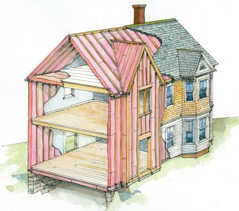 Related keywords suggestions for houses without insulation - Advice on insulating your home ...