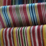 Calimanco fabrics, woven and glazed by Kate Smith, Eaton Hill. Photo: Richard Walker