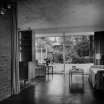 The living room in the late 1940s.