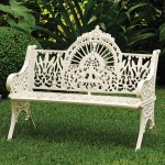 Need a focal point for the garden? The Victorian Bench from Charleston Gardens is a good contender—its Gothic-esque tracery is certain to draw the eye.