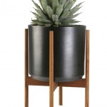 Inspired by the Case Study houses built in California by noted mid-century architects, Modernica's planter (available in black or white) is the perfect patio or poolside accompaniment.