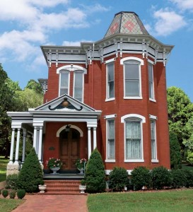 Dressing up a Victorian-era house (like this Italianate-Second Empire blend) means paying attention the exterior as well as interior. Look for accessories that celebrate the period's obsession with fine ornamentation.