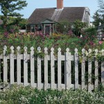 There's a reason the picket fence is an American classic—it's been around since our earliest days. This version from Walpole Woodworkers is modeled on the one outside the Benjamin Waller Home at Colonial Williamsburg.