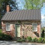 The tiny Wisteria Cottage is thought to have been constructed in the early 19th century.
