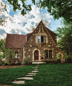 This Tudor house in Geneva, Illinois, went from downtrodden to desirable, thanks to an energy-efficient retrofit that was mindful of the house's history.