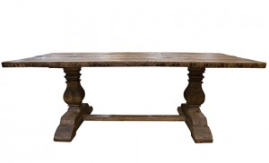 Arhaus Kensington recycled pine dining table