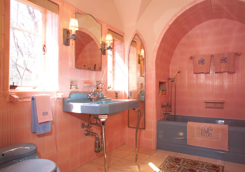 Colorful Old House Bathrooms Old House Online Old