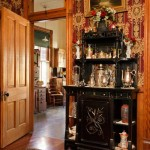 With all other rooms restored and decorated in the late-Victorian mode, it was important that the kitchen, an original space right off the dining room, be accurate for the period.