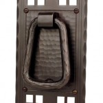 Pacific door knocker by Craftsmen Hardware