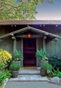 Exterior harmony was an important aspect of Arts & Crafts design, as this entrance to one of Henry Greene's Wild Wood Cottages demonstrates.